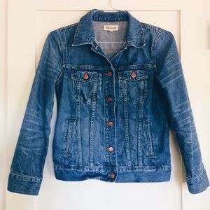 Madewell Denim Jean Jacket in Pitner Wash
